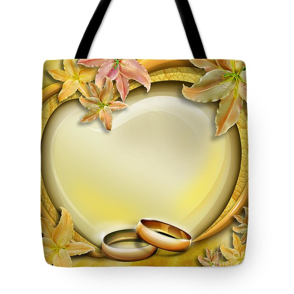 Wedding Memories V3 Tote Bag