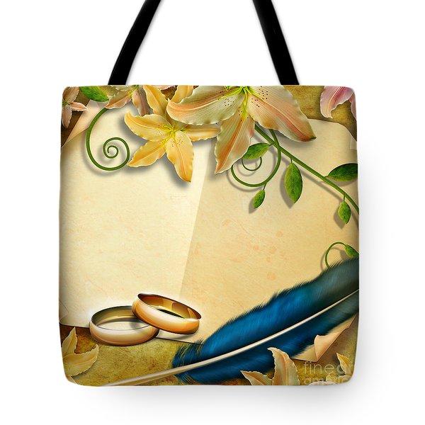 Wedding Memories V4 Natural Tote Bag by Bedros Awak