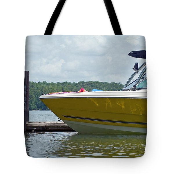 Tote Bag featuring the photograph Weekend Fun by Charles Beeler