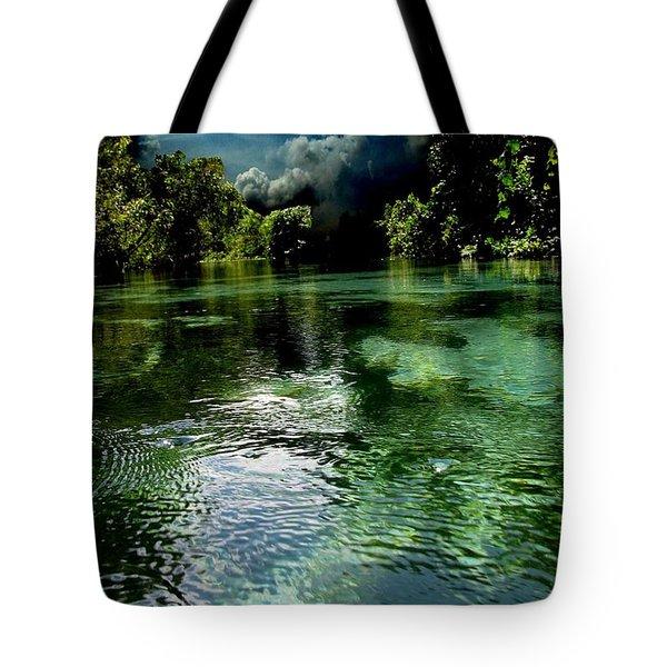 Weekie Sky Tote Bag by AR Annahita