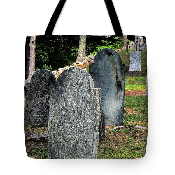 Weeks Cemetery Tote Bag by Mim White