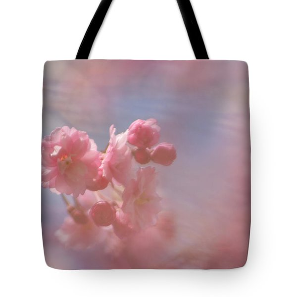 Weeping Cherry Blossoms Tote Bag