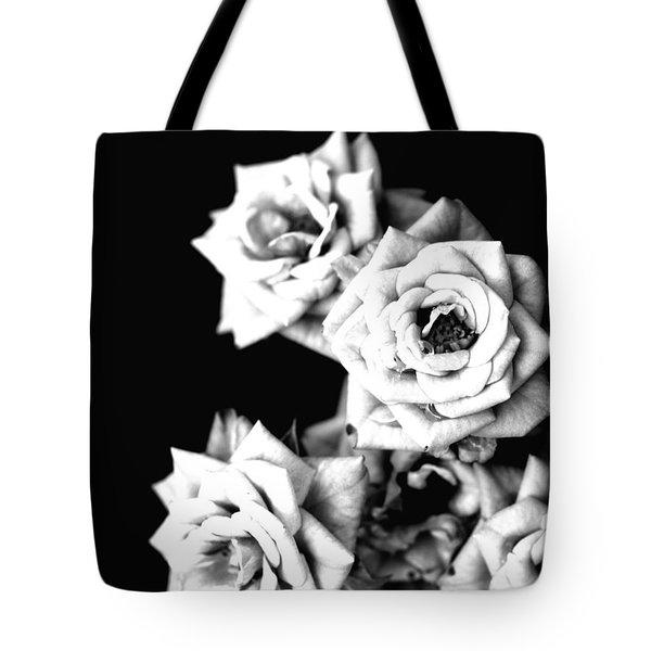 Weeping Roses Tote Bag by Rachel Mirror