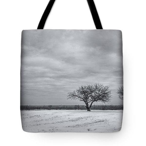 Weeping Souls Of Winter Desires Tote Bag
