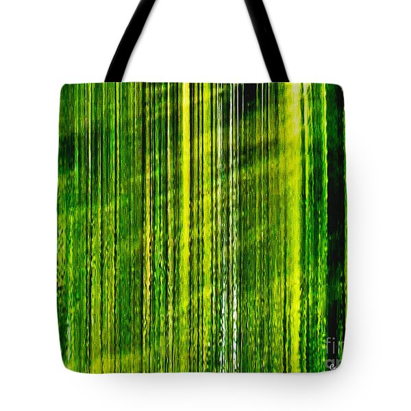 Weeping Willow Tree Ribbons Tote Bag