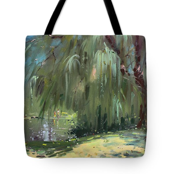 Weeping Willow Tree Tote Bag