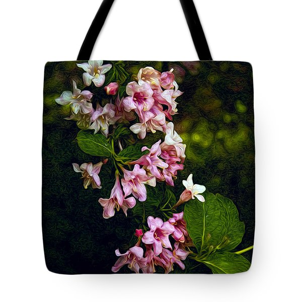 Weigela Tote Bag