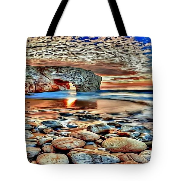 Weighed In Stone Tote Bag