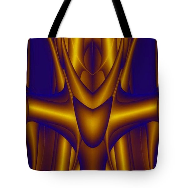 Tote Bag featuring the painting Weightlifter by Rafael Salazar