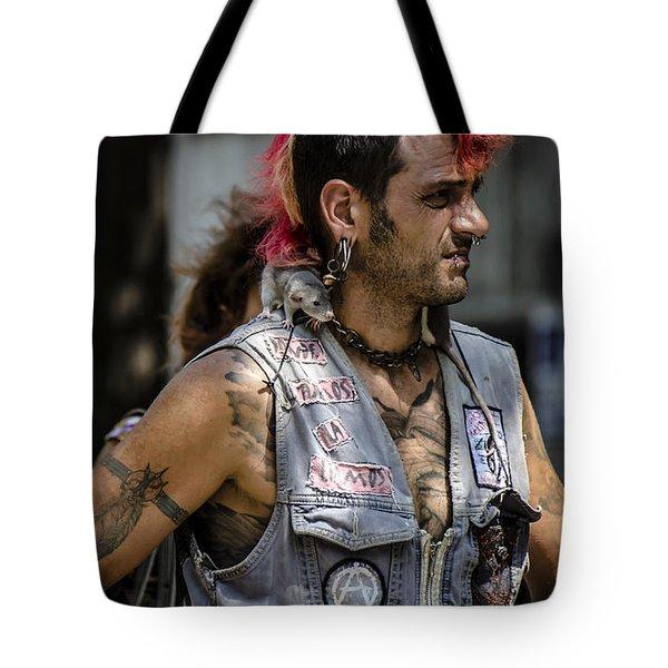 Weird Relationships Tote Bag by Sotiris Filippou
