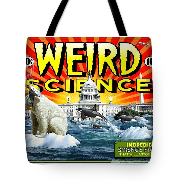 Weird Science Tote Bag by Scott Ross