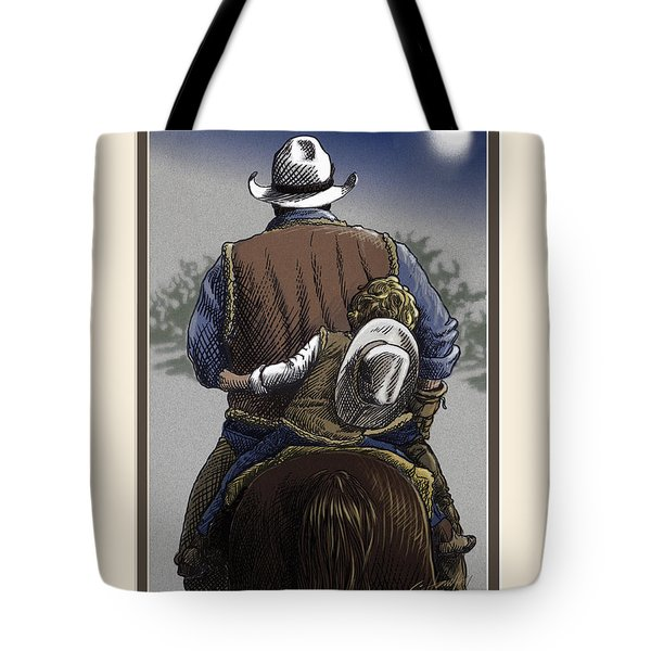 Wejesgotstatrust Tote Bag by Cliff Hawley