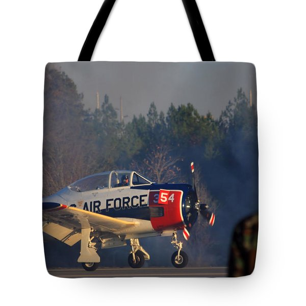 Welcome Back Tote Bag by Karol Livote