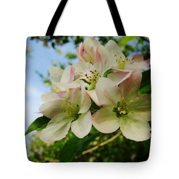 Welcome Blossoms Tote Bag