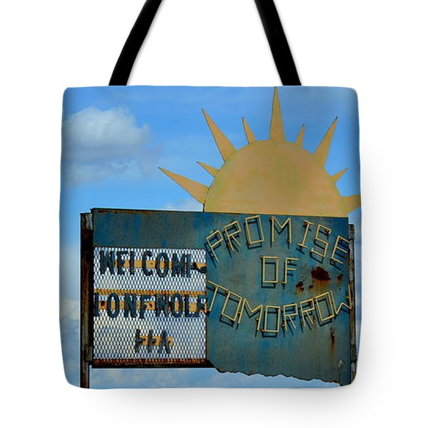 Hometown Welcome Tote Bag