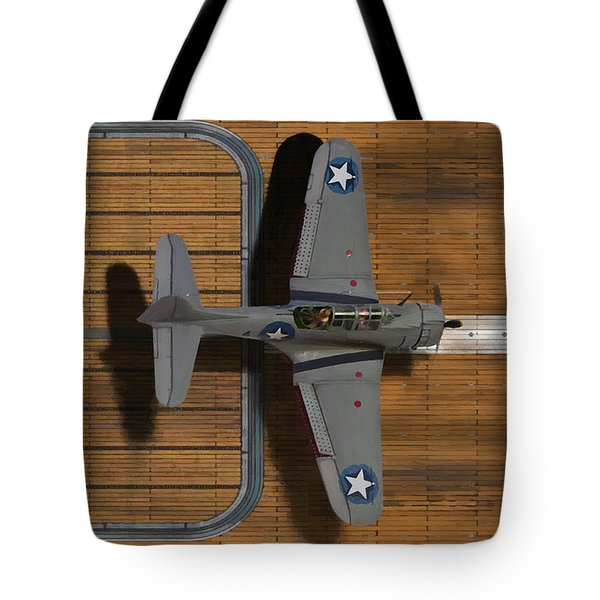 Welcome Home To The Hornet-oil Tote Bag