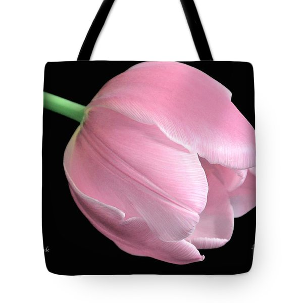 Welcome Spring In Pink Tote Bag