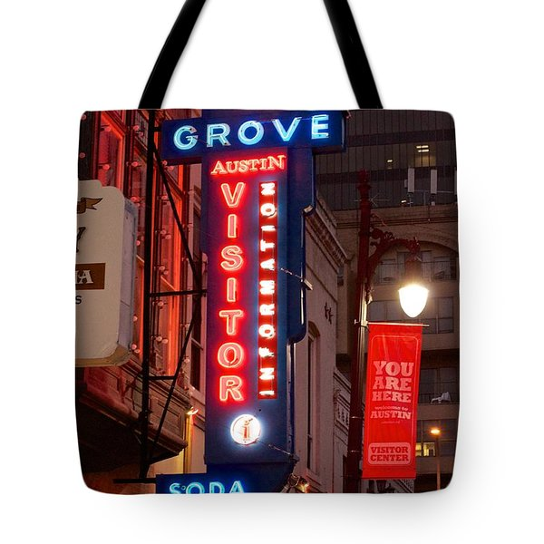 Welcome To 6th Street Tote Bag