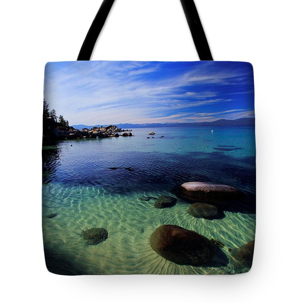 Tote Bag featuring the photograph Welcome To Bliss Beach by Sean Sarsfield