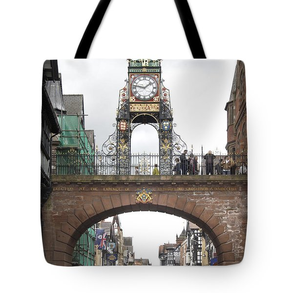 Welcome To Chester Tote Bag by Mike McGlothlen