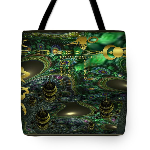 Welcome To Cosmic City Tote Bag
