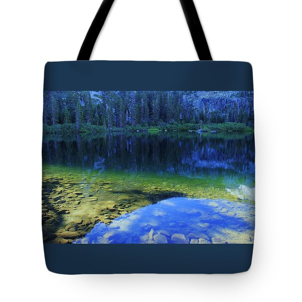Tote Bag featuring the photograph Welcome To Eagle Lake by Sean Sarsfield
