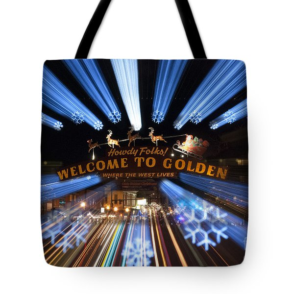 Welcome To Golden Tote Bag