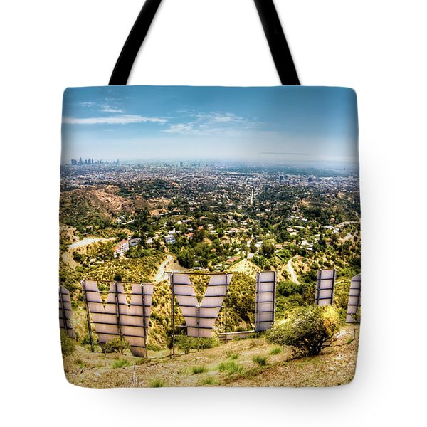 Welcome To Hollywood Tote Bag