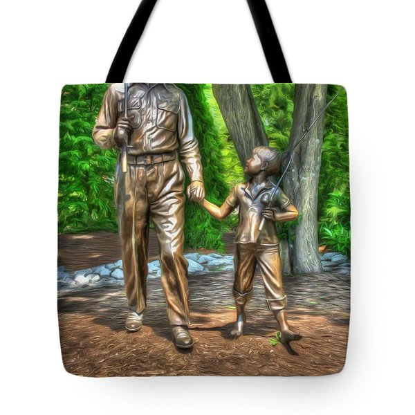 Welcome To Mayberry Tote Bag by Dan Stone