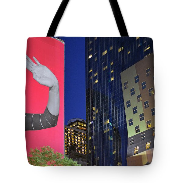 Welcome To New York Tote Bag by Jeffrey Friedkin