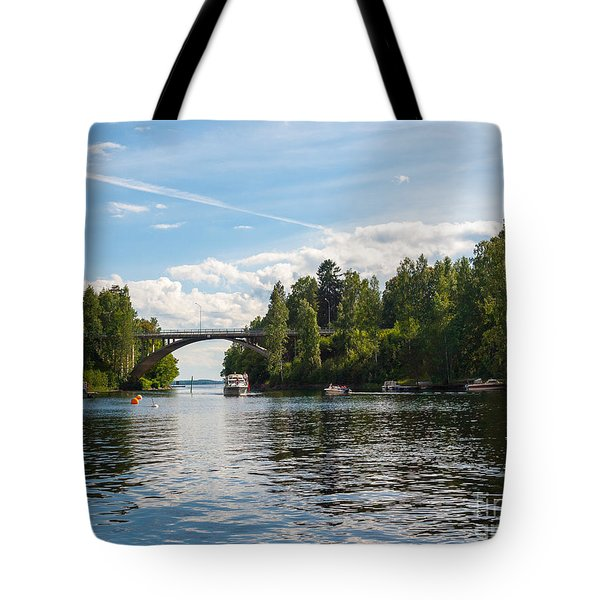 Welcome To Oravi Tote Bag
