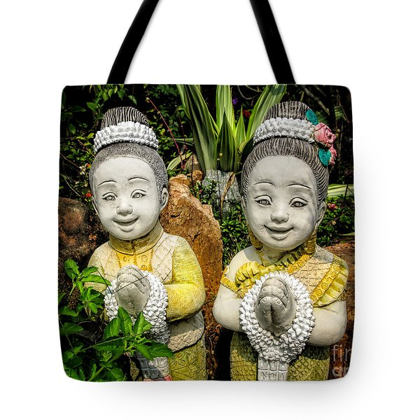Welcome To Thailand Tote Bag by Adrian Evans