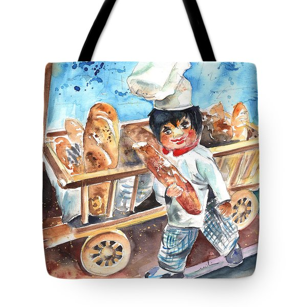 Welcome To The Czech Republic 03 Tote Bag by Miki De Goodaboom
