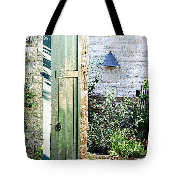 Welcome To The Garden Tote Bag by Andee Design