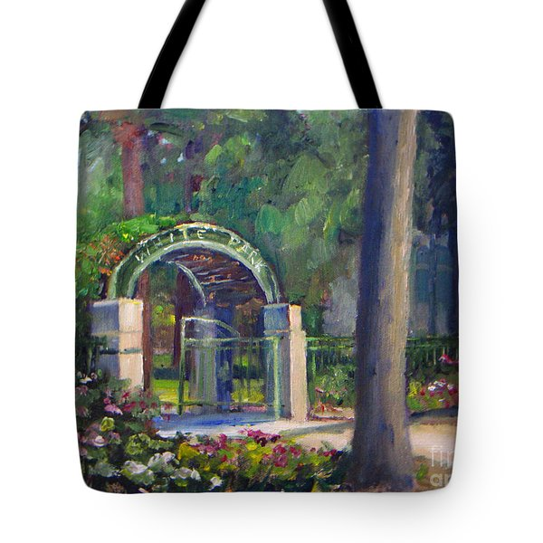 Welcome To White Park Tote Bag