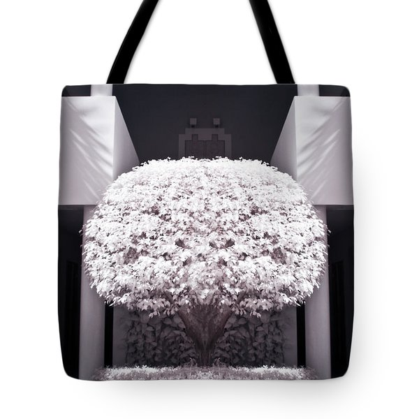 Welcome Tree Infrared Tote Bag by Adam Romanowicz
