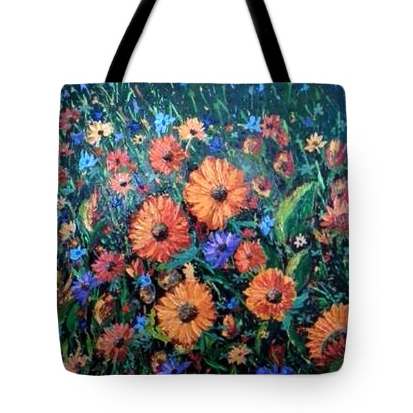 Welcoming The Dawn Tote Bag