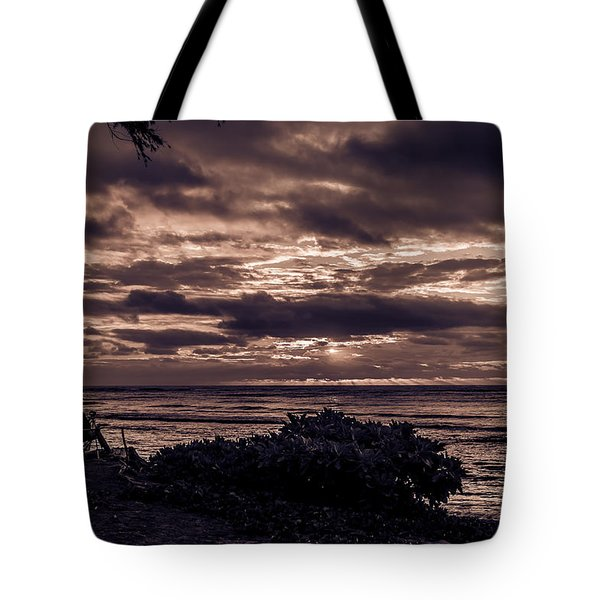 Welcoming The Sun Tote Bag