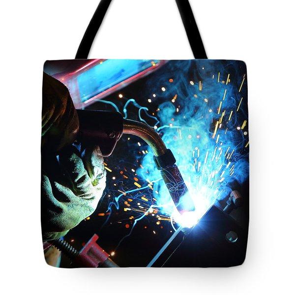 Weld Tote Bag by David Andersen