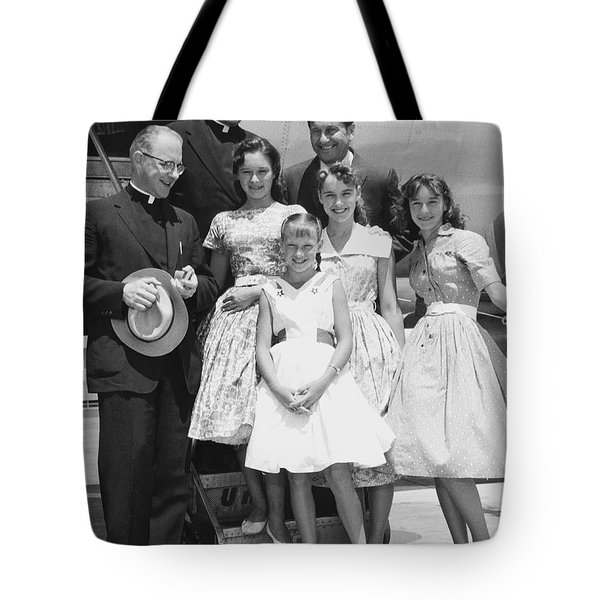 Welk And The Lennon Sisters Tote Bag