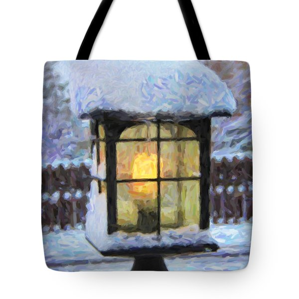 We'll Leave The Light On For You Tote Bag by Jon Burch Photography