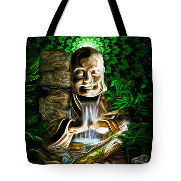Well Of The Heart Tote Bag by Jalai Lama