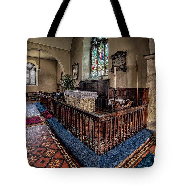 Welsh Chapel Tote Bag by Adrian Evans