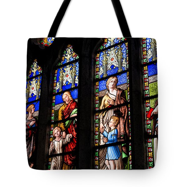 Welsh Glass Tote Bag by Adrian Evans