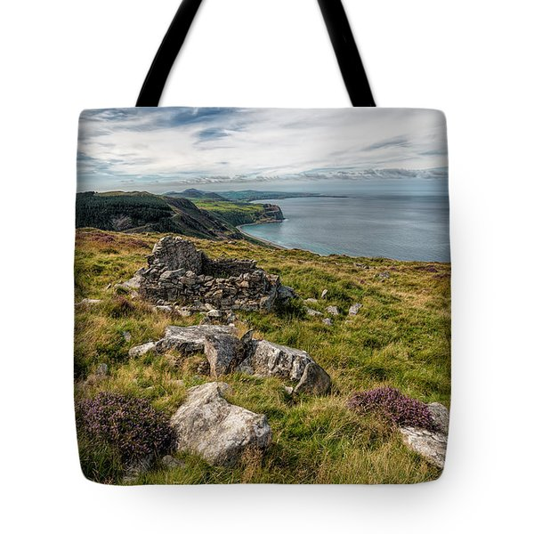 Welsh Peninsula Tote Bag by Adrian Evans