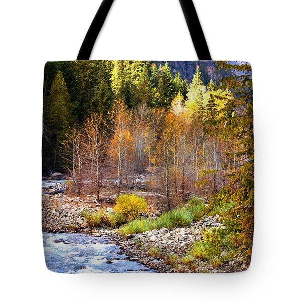 Wenatchee River - Leavenworth - Washington Tote Bag