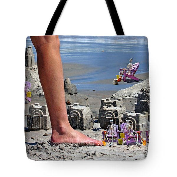We're Moving In Tote Bag by Betsy Knapp