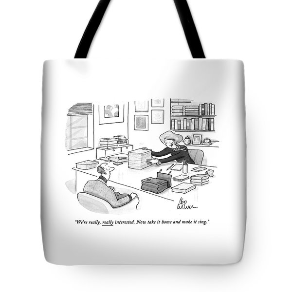 We're Really Tote Bag