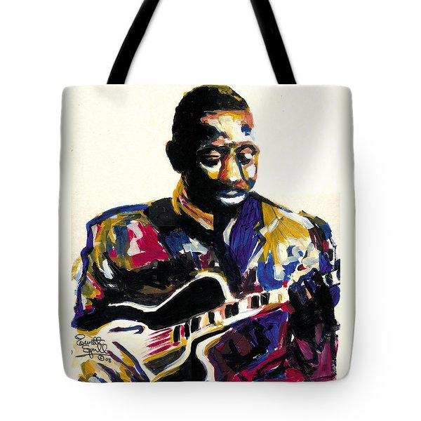Wes Montgomery Tote Bag by Everett Spruill