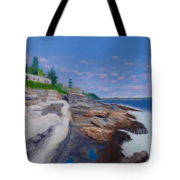 Weske Cottage Tote Bag